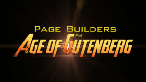Page Builders in the Age of Gutenberg title slide